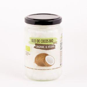 Ulei virgin de Cocos Bio 100% Organic & Vegan 250 g