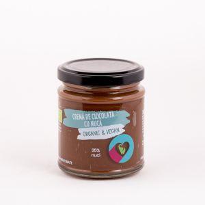 Cremă de ciocolată cu nucă Organic & Vegan 200 g