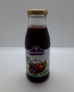 Suc natural mere+struguri roșii 0.25 L