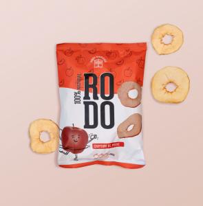 Chipsuri de mere roșii 40g