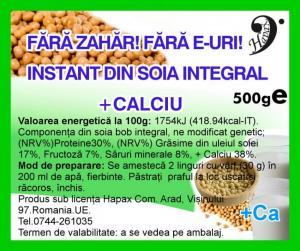 Instant soia integral cu calciu 500 g