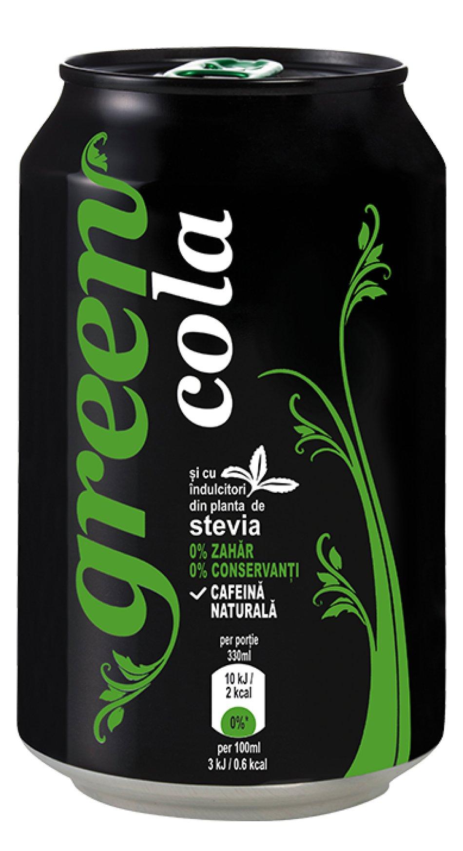Green Cola doză 330 ml