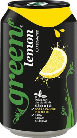 Green lămâie doză 330 ml