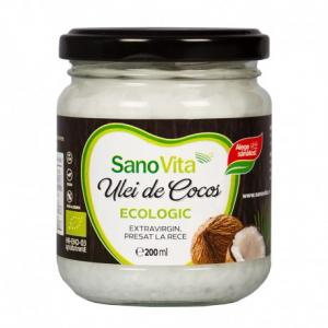 Eco Ulei de Cocos extravirgin 200ml