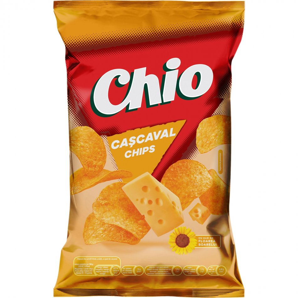 Chio chips cascaval
