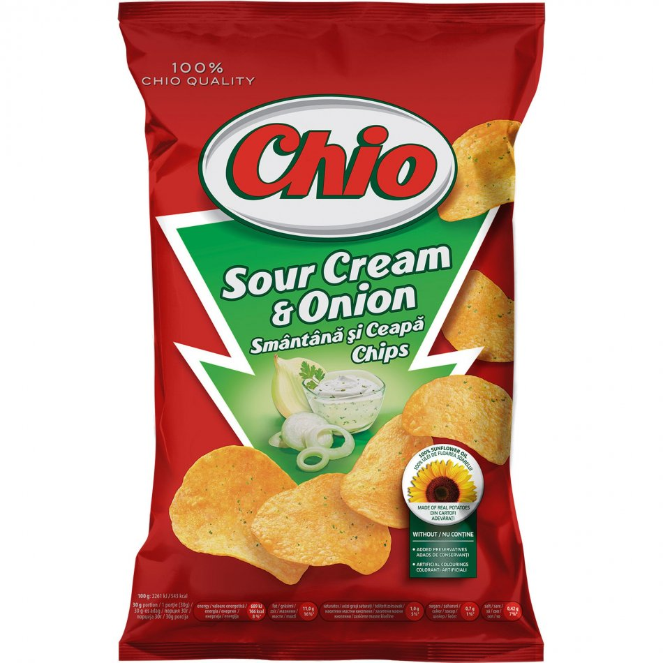 chio sour cream 65g