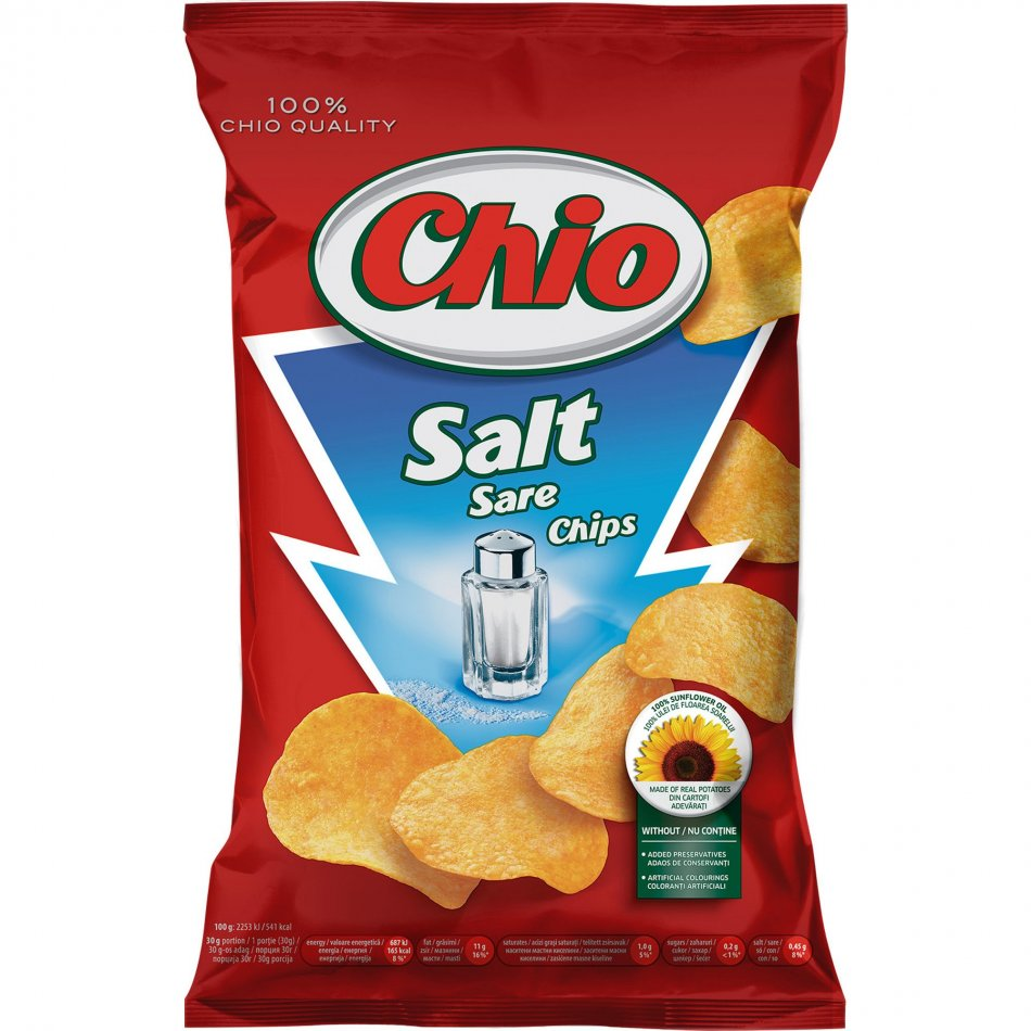 Chio chips sare