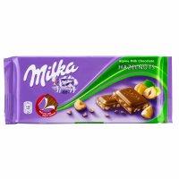Milka Ciocolată Alune 100g