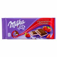 Milka Ciocolată Capsuni 100gr