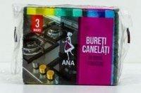 Ana Burete Vase Canelat 3 buc/set