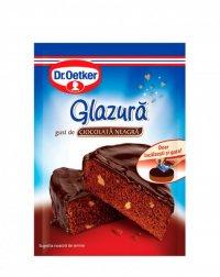 Dr. Oetker - Glazură de ciocolată negră 100g