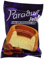 Paradise - Prăjitură cu jeleu de căpșuni 25g