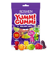 Roshen yummi gummi galaxy