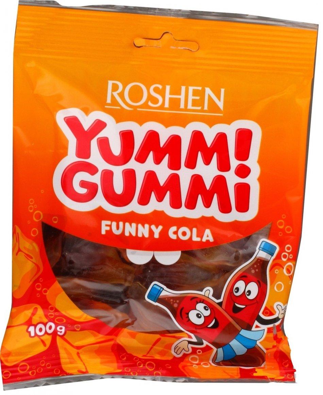 Roshen yummi gummi cola