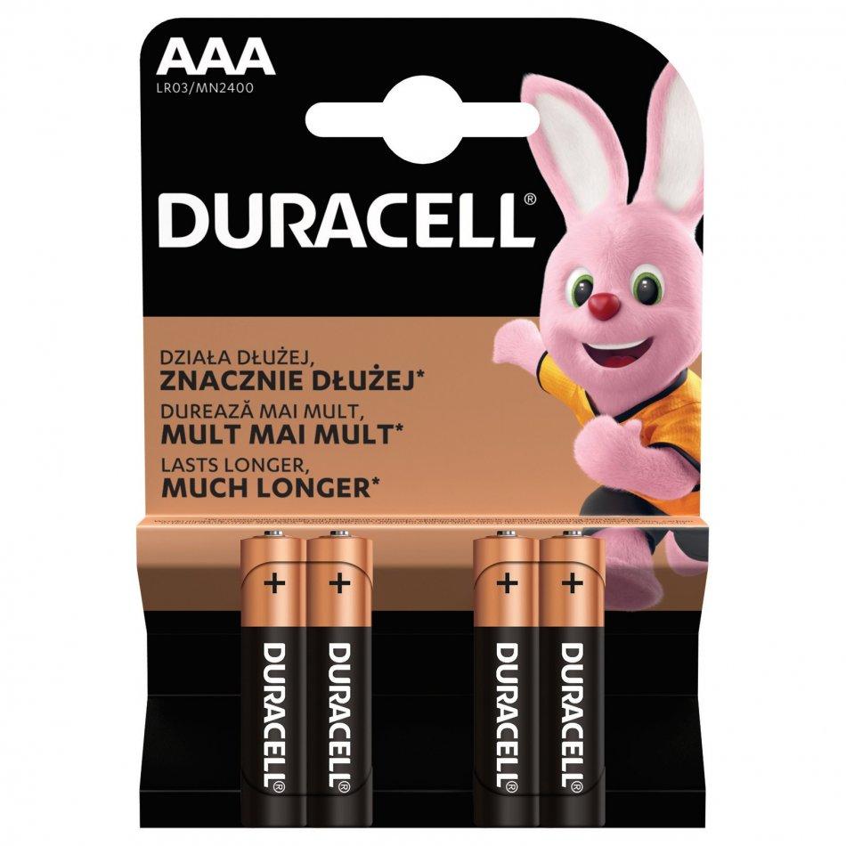 Duracell AAA 4 buc