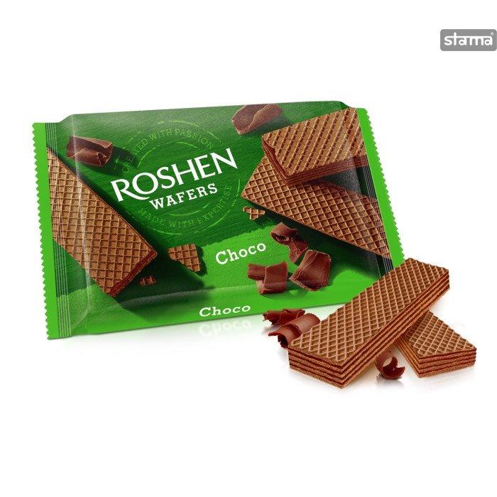 roshen wafers choco