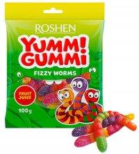 Roshen Yummi Gummi Fizzy Worms 100g