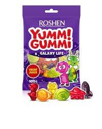 Roshen Yummi Gummi Galaxy Life 100g