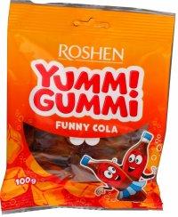 Roshen Yummi Gummi Funny Cola 100g