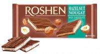 Roshen - Ciocolată cu Alune și Nuga 90g