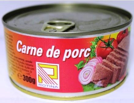 rotina carne de porc