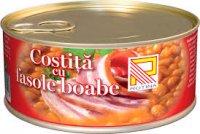 Rotina - Costiță cu fasole boabe 300g