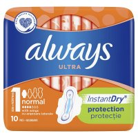 Always Ultra  - Instant Dry 10 buc