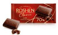 Roshen - Classic Darck 70%-  Ciocolată neagră   90g