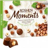Roshen Moments - Praline de ciocolată cu alune 116g