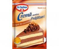 Dr. Oetker - Cremă pentru prăjituri cu gust de ciocolată 55g