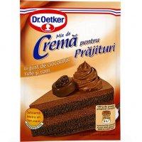 Dr. Oetker - Cremă pentru prăjituri cu gust de ciocolată, rom și trufe 57g