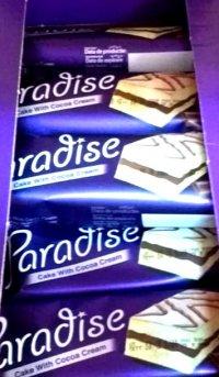 Paradise - Prăjitură cu cremă de cacao 25g