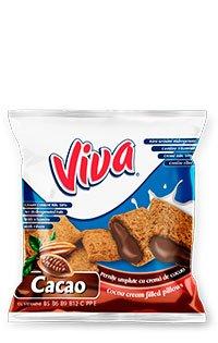 Viva - Perinițe umplute cu cremă de cacao 100g