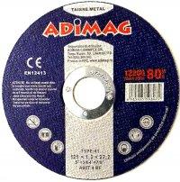 Adimag - Disc flex albastru - Tăiere metal 125*1.2