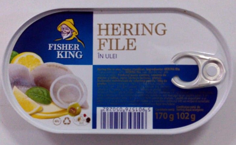 fisher K hering in ulei
