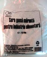 Salrom - Sare gemă măruntă pentru industria alimentară 5Kg