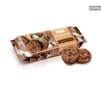 Roshen - Esmeralda - Biscuiți cu ciocolată neagră 150g