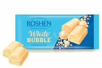 Roshen - Ciocolată albă aerată 80g
