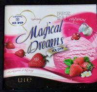 Ice Dyp - Magical Dreams - Înghețată la caserolă cu gust de căpșuni și topping 1200g