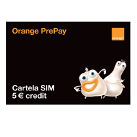 Orange - Pachet PrePay 5 Euro Credit multisim