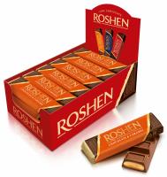 Roshen - Baton de ciocolată cu caramel 40g