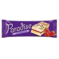 Paradise - Prăjitură cu cremă de căpșuni 25g