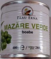 Frau Erna - Mazăre verde Cutie/400g