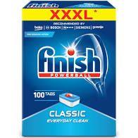 Finish - Classic - Tablete pentru mașina de splălat vase 100 buc