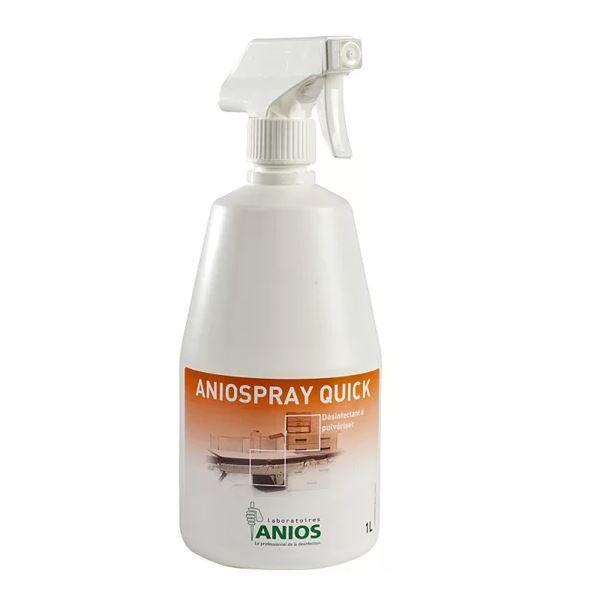 Aniospray Quick 1 L  dezinfectant rapid suprafețe medical  virucid