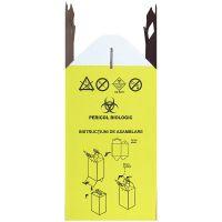 Cutie carton cu sac pentru colectarea deșeurilor medicale infecțioase 20L