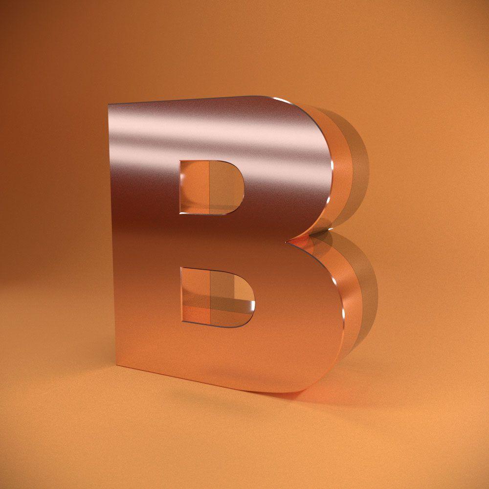 Litere volumetrice în două straturi din oțel inoxidabil