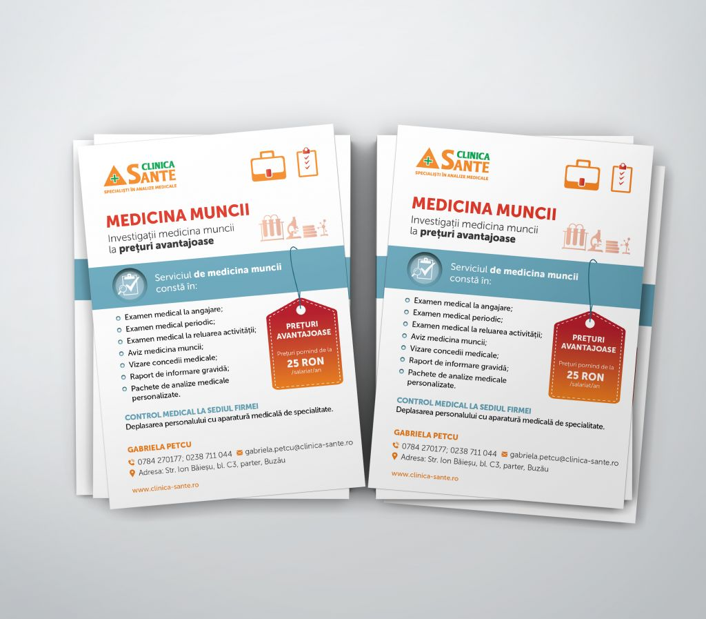 FlyeremedicinamunciiBuzau