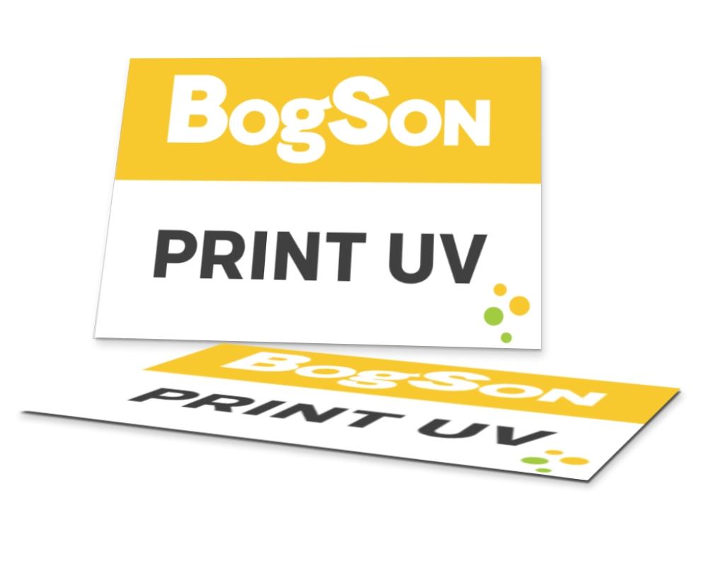 Print UV pe materiale rigide
