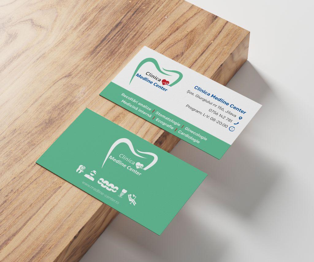 Carti de vizita Clinica Medline center 1